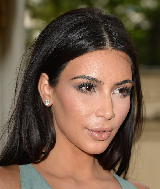 Kim Kardashian Hair How Traction Alopecia Can Damage Edges