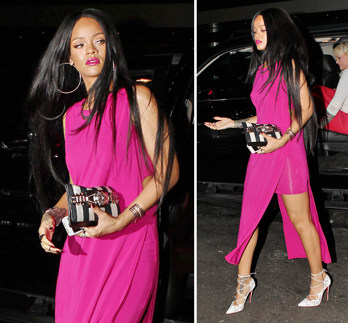 Rihanna channels rapunzel but with a totally ratchet weave rihanna channels rapunzel but with a totally ratchet weave hair extension magazine pmusecretfo Images