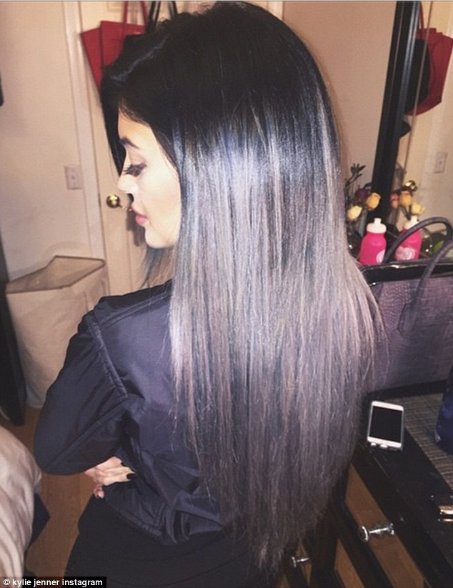 Kylie jenner reveals halloween inspired green tinged hair after a 12 hour hair appointment kylie jenner revealed pmusecretfo Images