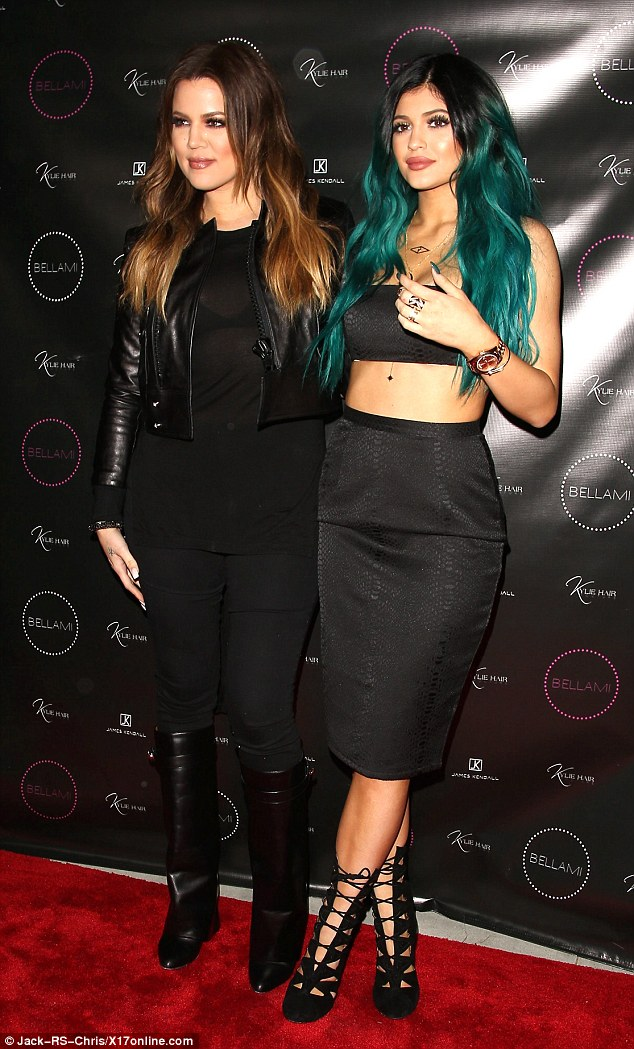 Kylie Jenner Launches Her New Hair Extension Line With The Help Of Sisters Khloe And Kim And Boyfriend Tyga  The Mane News-8353