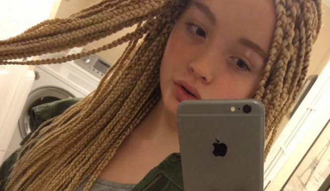 January 2015 hair extension magazine page 2 when 12 year old mallory merk opted to share a photo of her new hair stylebox braidsshe had no idea that a racially charged backlash would follow pmusecretfo Gallery