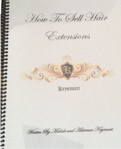 learn how to sell hair extensions manual