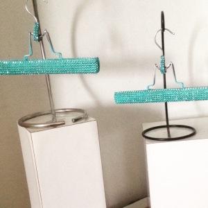 Krysmari Teal Glam Hangers